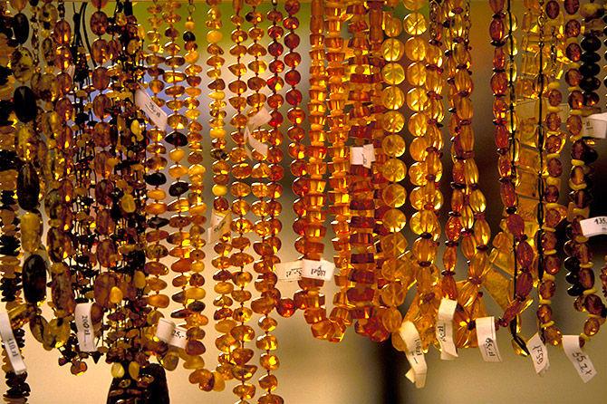 Украина заявила об открытии янтарного рынка