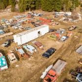 В Канаде на аукцион выставили кладбище автомобилей