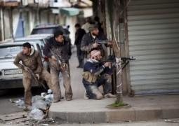 Сирийская армия крепко защищается в гражданской войне