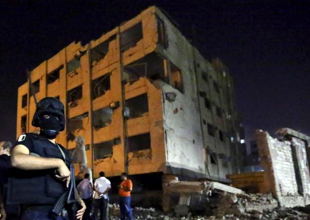 В пригороде Каира совершен теракт