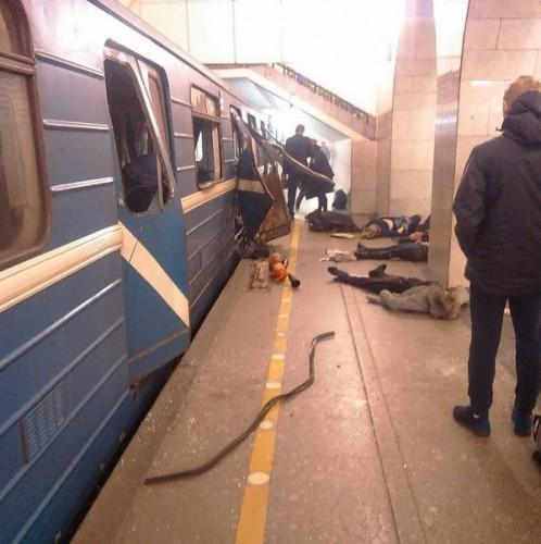 Страшный теракт в Санкт-Петербурге
