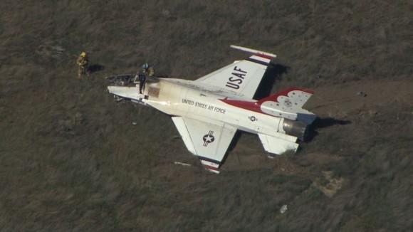 В Вашингтоне разбился самолет