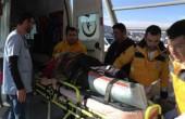 В Турции упал воздушный шар