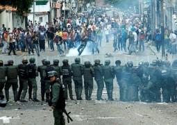 Массовые протесты в Венесуэле