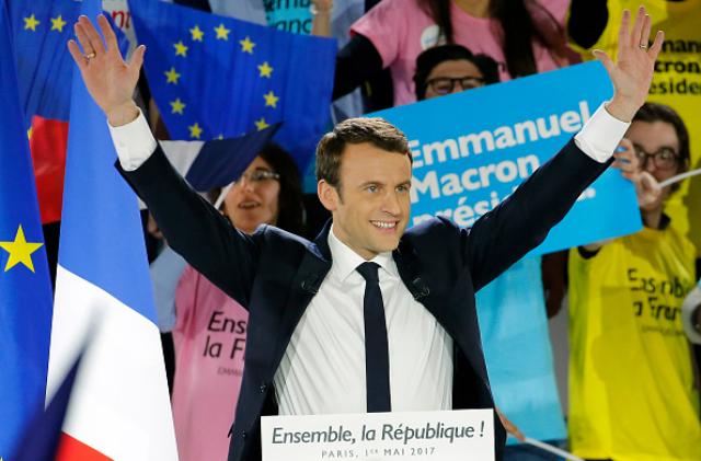 Макрон — новый президент Франции