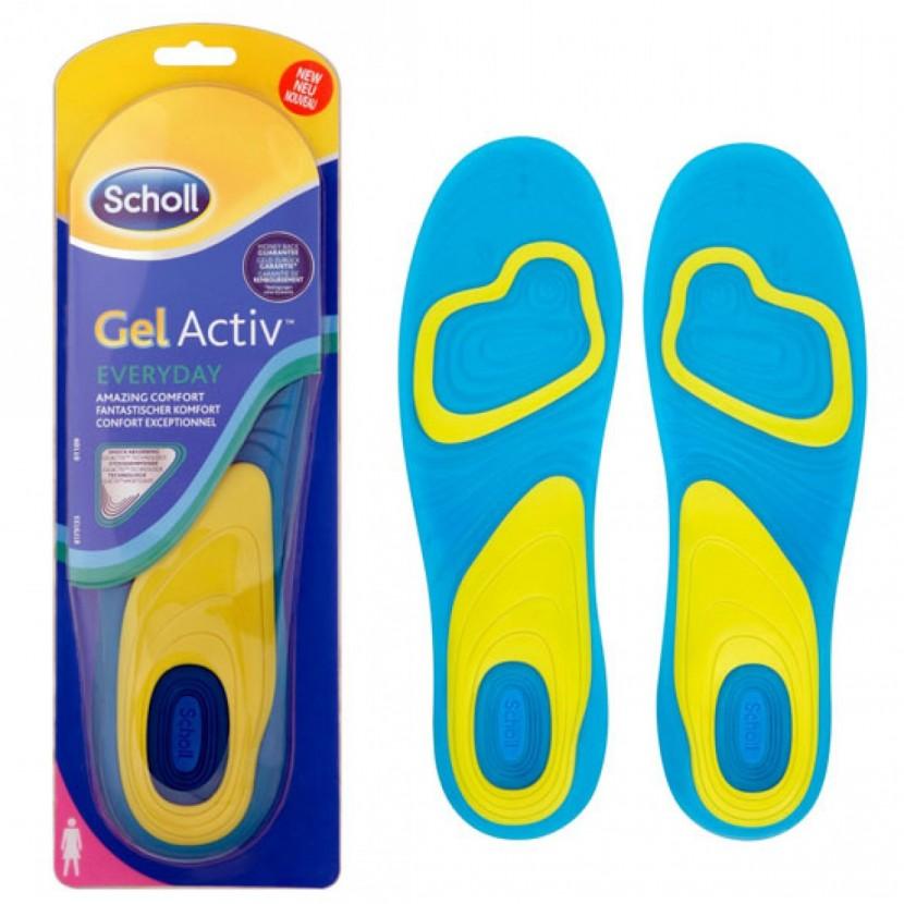 Гелевые стельки Scholl – праздник для ваших ног