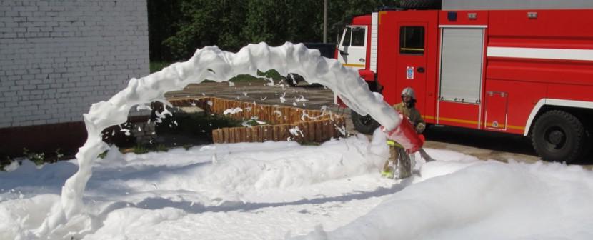 Пенообразователи для тушения пожаров