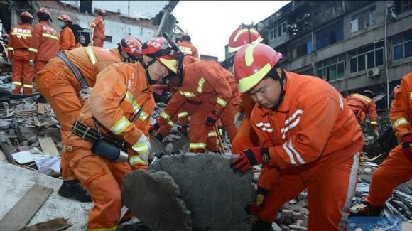 В Китае рухнула шахта