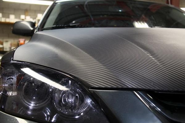 Mazda 3 Hood