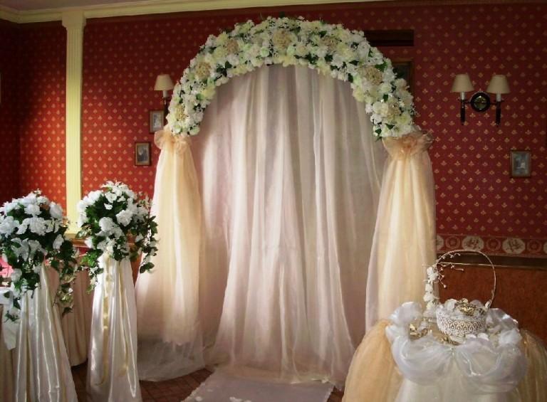 Украшение свадебного зала мастер класс
