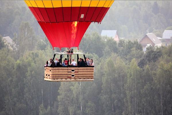 Полетим на воздушном шаре?