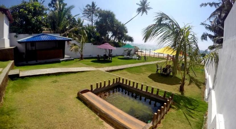 Ramon beach hotel Sri Lanka