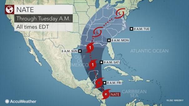 В Коста-Рике, Никарагуа и Гондурасе 20 человек стали жертвами нового урагана «Нейт»