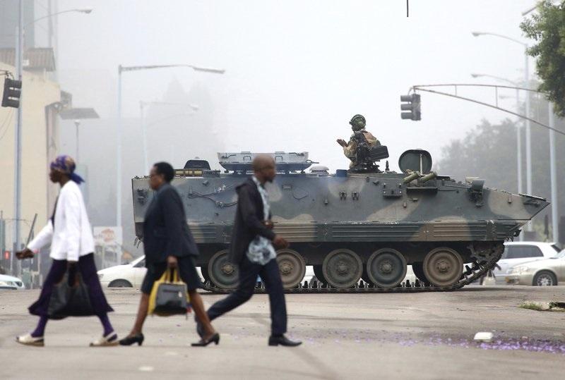 Главная телерадиокомпания Зимбабве захвачена военными