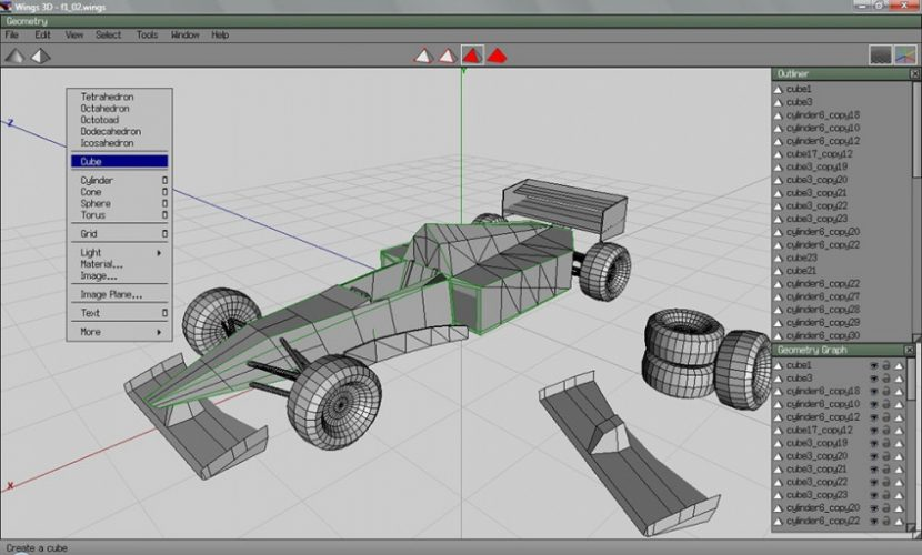 Основные этапы 3D моделирования