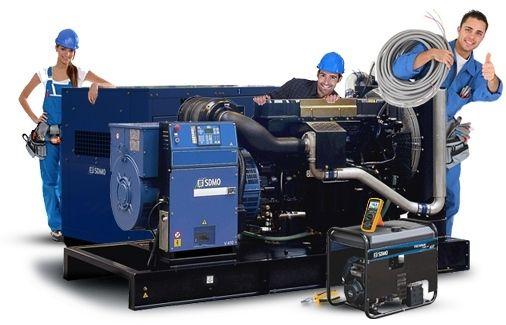 Обслуживание дизельных генераторов. Панельные воздушные фильтры