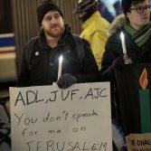В Чикаго евреи организовали манифестацию высказывая недовольство Трампу
