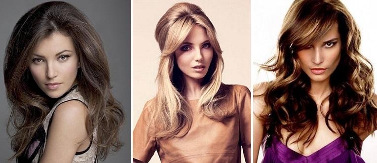Смена цвета женских волос