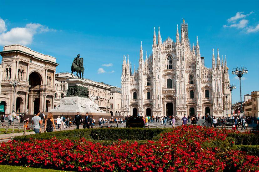 Население Италии и интересный город Милан