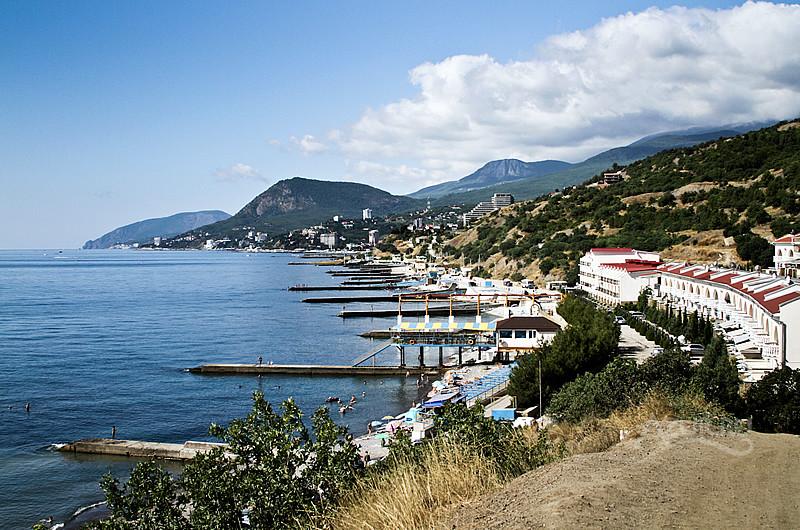 Алушта — прекрасный город в Крыму