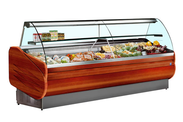 Разновидности холодильных витрин