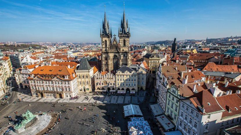 Особенно популярная Прага из Чехии