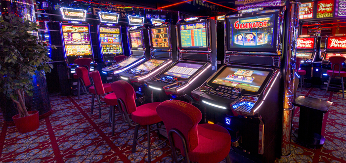 Ассортимент развлечений Admiral Casino