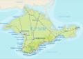 Огромное количество зон отдыха в Крыму