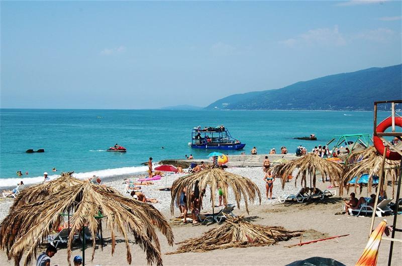 Абхазия и ее пляжи
