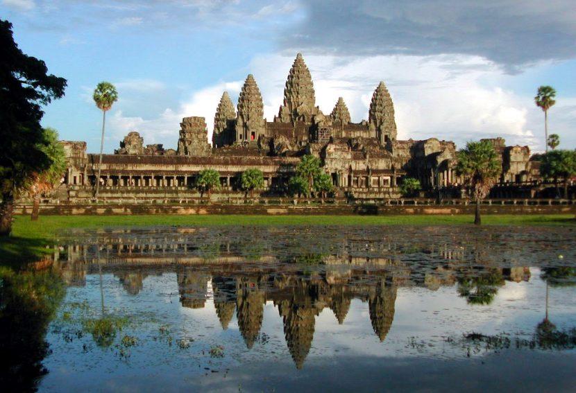 Увлекательное место Ангкор в Камбодже