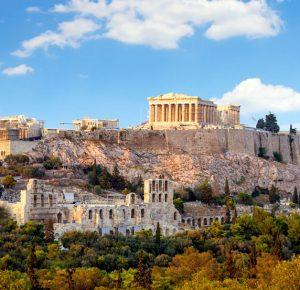 Первое знакомство с Грецией и Афинами