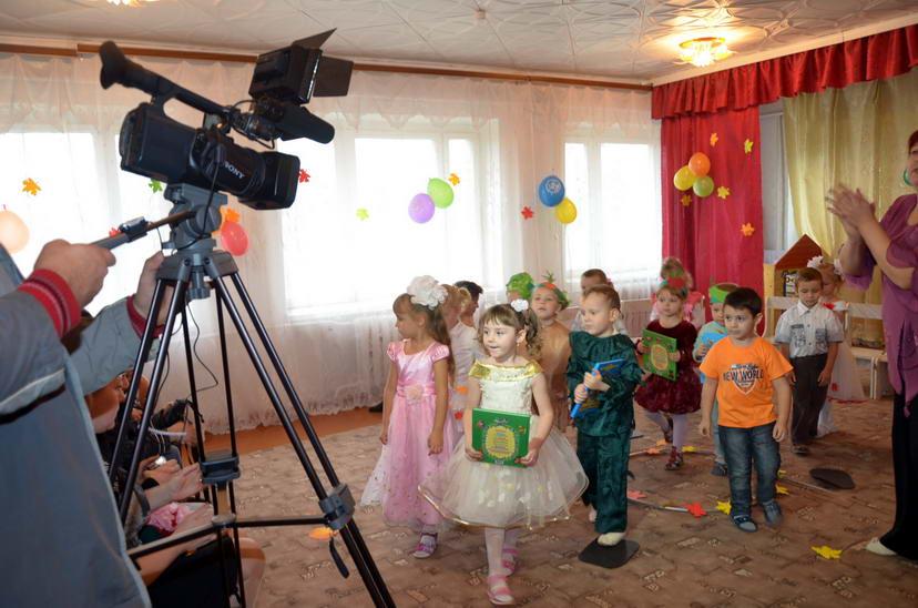 Услуги детской видеосъемки