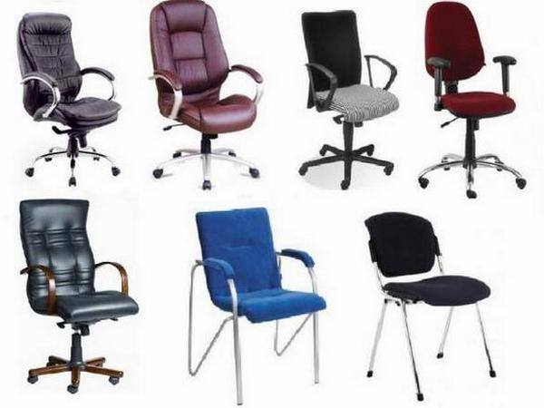 Кресла и стулья для офиса в Украине