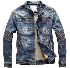 Стильная одежда для сильных мужчин. Джинсовые куртки