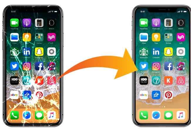 Причины ремонта iPhone 10