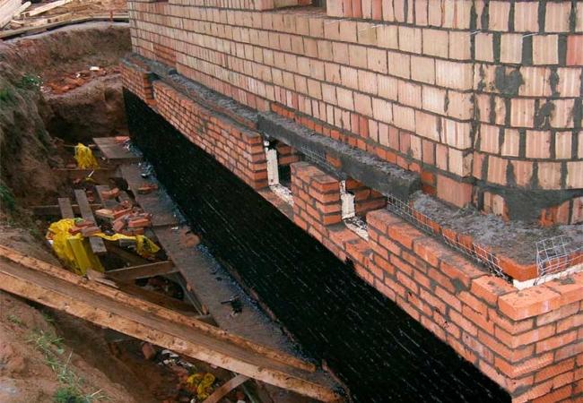 Фундамент – покрытие для обработки внешней поверхности. Жидкая резина для фундамента