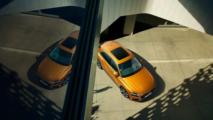 Покупка автомобиля современного образца — Audi Q8 в Москве