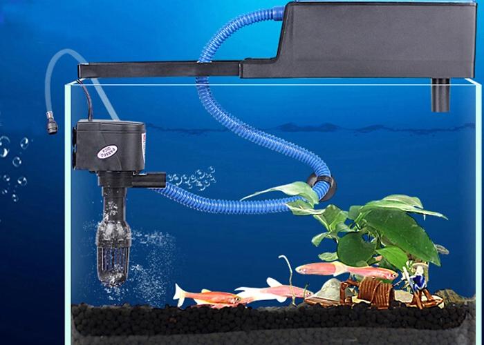 Тайны подводного мира. Помпа для аквариума