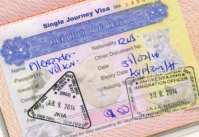 Оформление визы в Таиланд