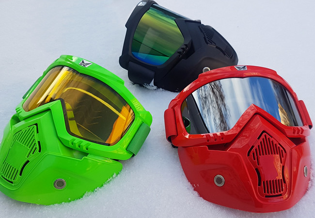 Как выбрать маски и очки для сноубординга?