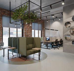 Разработка дизайна офиса мечты