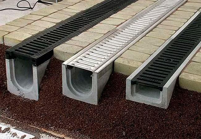 Поверхностный водоотвод. Решетки и крышки к дождеприемнику