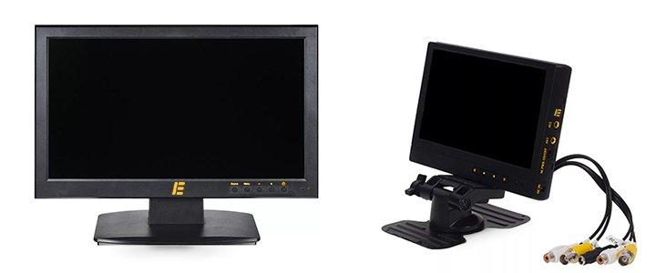 Как выбрать монитор для видеонаблюдения на транспорт