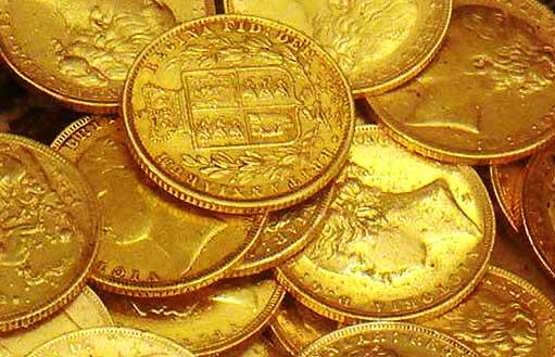 Вложить деньги в инвестиционные золотые монеты