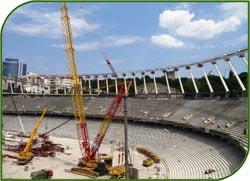 Число посадочных мест на московском стадионе Лужники уменьшат до 81 тысячи