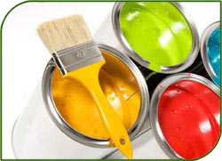 Дизайн интерьера квартиры: покраска стен