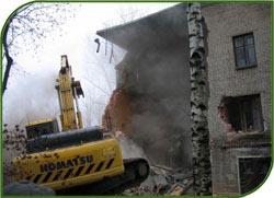 Дом, который обрушился в Барнауле и привел к гибели пожилых людей, уже снесли