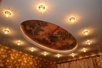 Фотопечать на натяжных потолках – оригинальное украшение интерьера