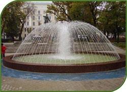 К Новому году светодиодный фонтан и трехметровые снежинки украсят ВВЦ