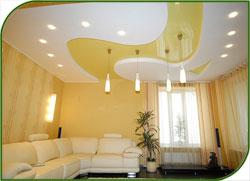 Натяжные потолки подарят стиль каждому дому